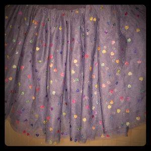 Girls sparkly skirt